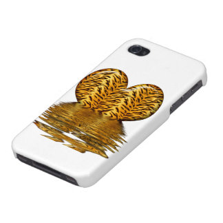 Tiger heart iPhone 4/4S case