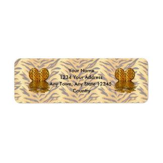 Tiger Heart Label