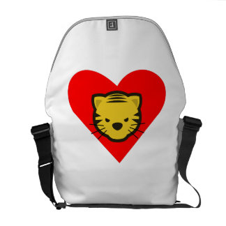 Tiger Heart Courier Bags