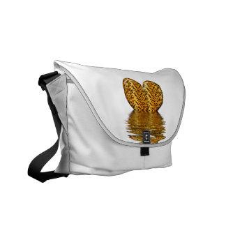 Tiger heart messenger bag