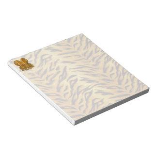 Tiger heart notepad