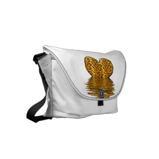 Tiger heart small messenger bag