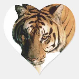 Tiger Heart Sticker