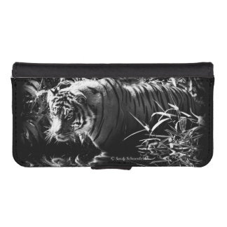 Tiger Hunting by Moonlight Phone Case