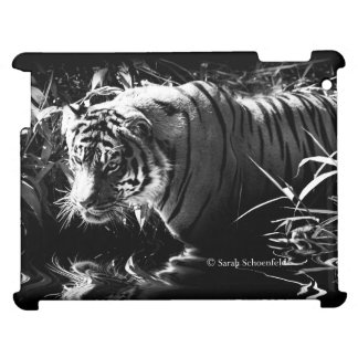 Tiger Hunting by Moonlight Phone Case iPad Cases