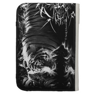 Tiger Hunting by Moonlight Phone Case Kindle Cover
