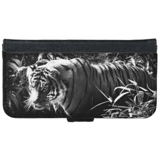 Tiger Hunting by Moonlight Phone Case iPhone 6 Wallet Case