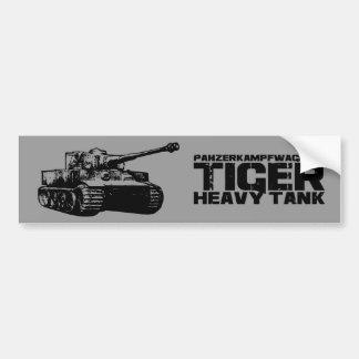 Tiger I Bumper Sticker Car Bumper Sticker