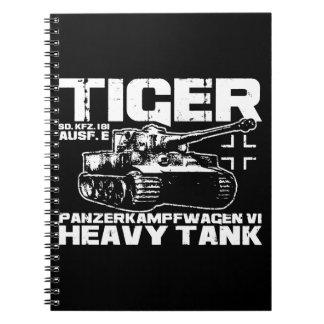 Tiger I Spiral Photo Notebook