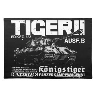 Tiger II Cloth Placemat