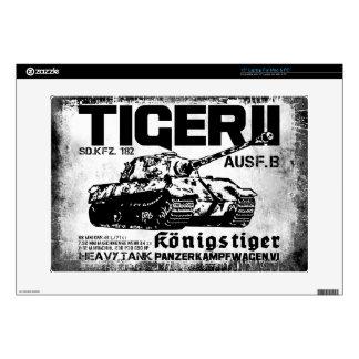 Tiger II Vinyl Device Protection Skin Laptop Skins