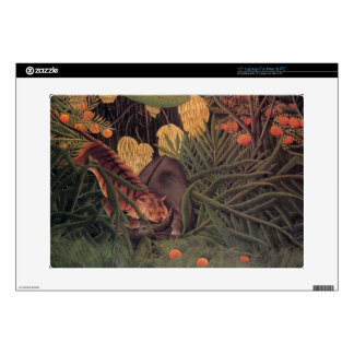 Tiger in a Jungle by Henri Rousseau Fine Art Laptop Skins