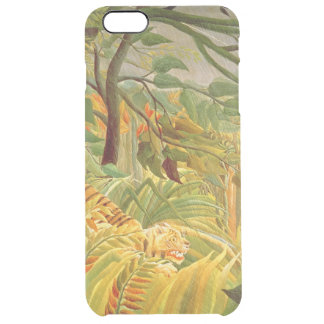 Tiger in a Tropical Storm  1891 Clear iPhone 6 Plus Case