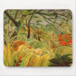 Tiger in a Tropical Storm  1891 Mouse Pads