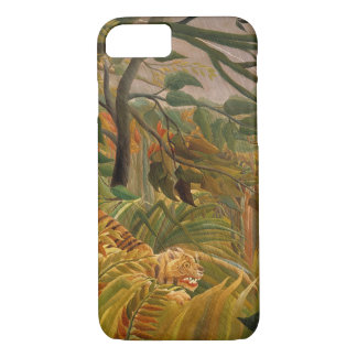 Tiger in a Tropical Storm by Henri Rousseau iPhone 8/7 Case