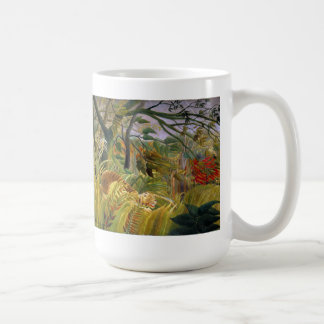 """Tiger in a Tropical Storm"" Coffee Mug"