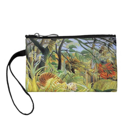 Tiger in a Tropical Storm Coin Wallets