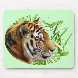 TIGER IN BAMBOO MOUSE PAD