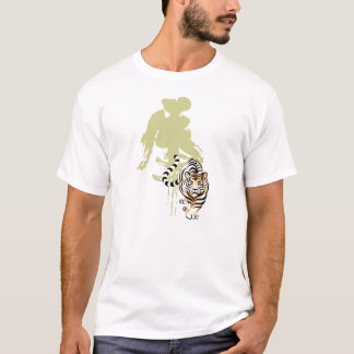Tiger in Chinese art and calligraphy T-Shirt