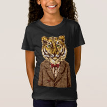 Tiger In Evening Wear T-Shirt