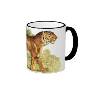 TIGER IN JUNGLE COFFEE MUG