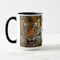 Tiger In My Tank Wild Cat Motivational Coffee Mug