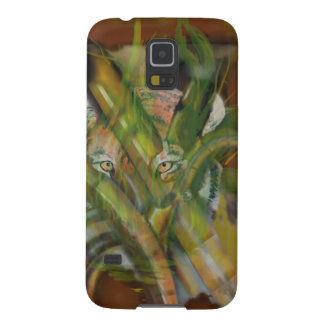Tiger in the Jungle Peaking through Bamboo Case For Galaxy S5