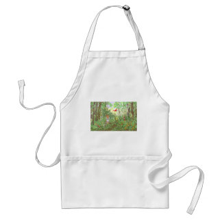 Tiger in the Rainforest Adult Apron