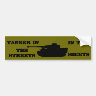 Tiger in the sheets bumper sticker