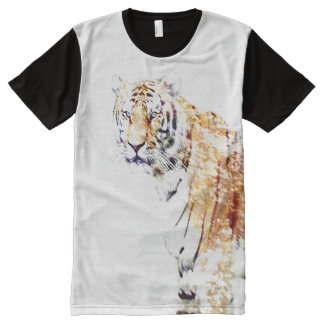 Tiger in the snow All-Over print t-shirt