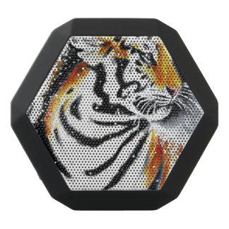 Tiger In The snow noir Black Bluetooth Speaker