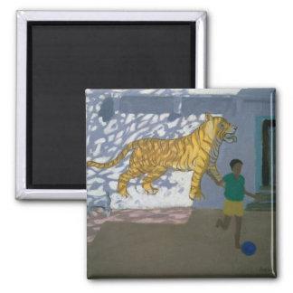 Tiger India Magnet