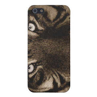 Tiger iPhone 4 Horizontal Case iPhone 5 Cases
