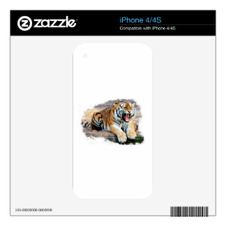 Tiger iPhone 4S Decal