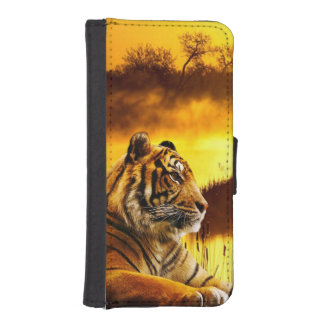 Tiger iPhone 5/5S Wallet Case