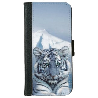 Tiger iPhone 6 Wallet Case