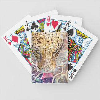 Tiger Jungle animal print Bicycle Playing Cards