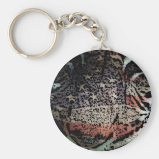 Tiger keychain (American Tiger)