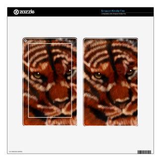 Tiger Kindle Fire Skin