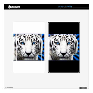 Tiger Kindle Fire Skin Templates