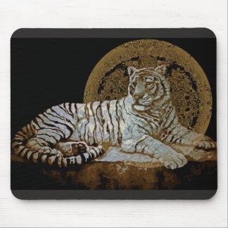 Tiger King Mouse Mat