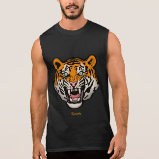 Tiger Kitteh Sleeveless Shirt