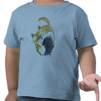 Tiger Kitten's One Eyed Yarn Attack Tee Shirt