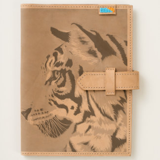 Tiger Leather Journal