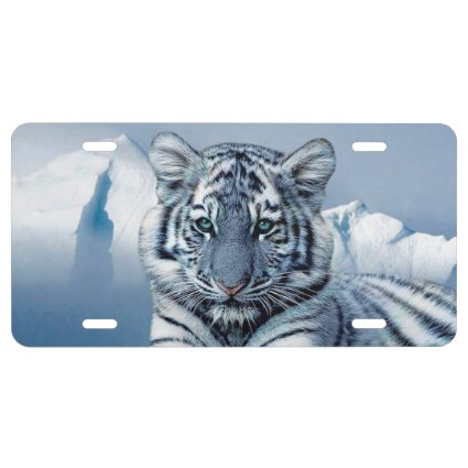 Tiger License Plate