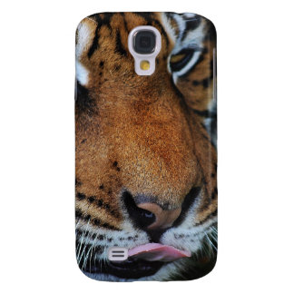 Tiger licking his lips samsung s4 case
