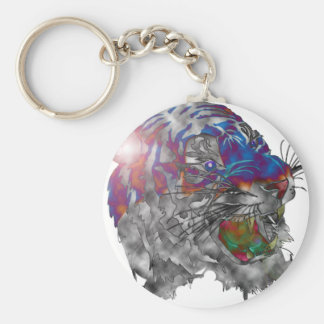 Tiger Light Keychain