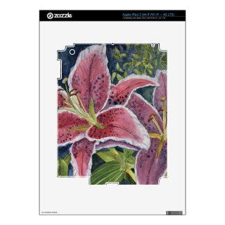 Tiger Lilies iPad 3 Skins