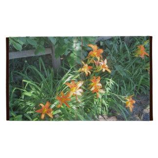 Tiger Lilies iPad Folio Cases