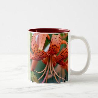 Tiger Lilies  Two-Tone Coffee Mug